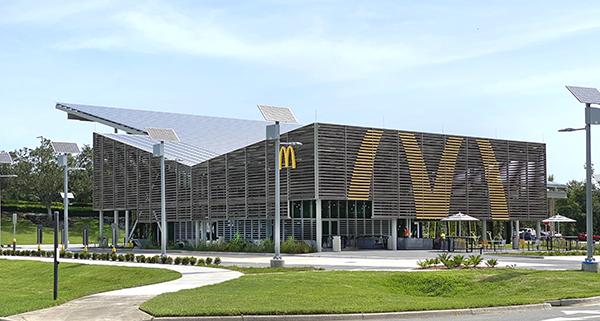 McDonald's Net-Zero Quick-Service Restaurant