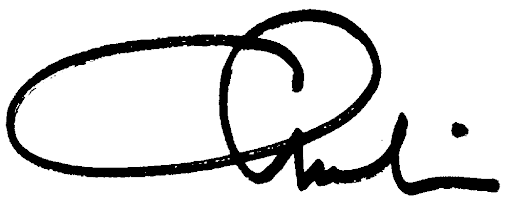Charlie Carter signature