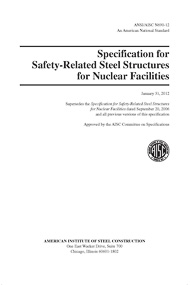 Supplement No. 2 to the Specification for the Design, Fabrication and Erection of Steel Safety-Relat
