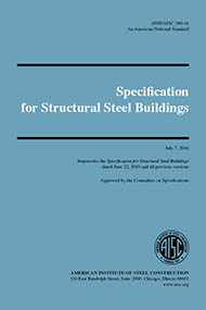 Specification for Structural Steel Buildings (ANSI/AISC 360-16)