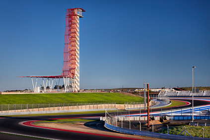 Circuit of The Americas Observation Tower and Austin360 Amphitheater