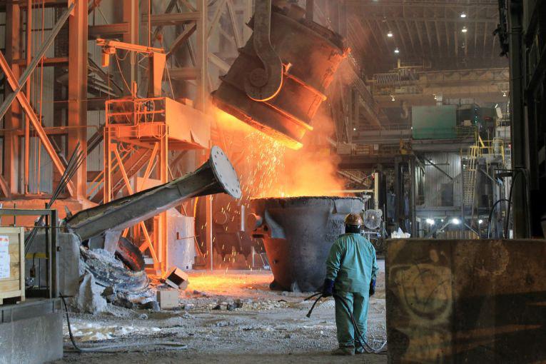 nucor steel stock