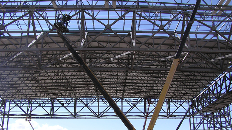 Modern steel construction for Open web trusses