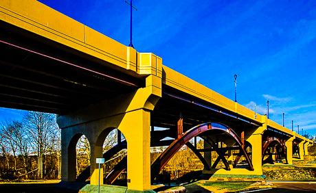 Gay Street Bridge over the Tennessee River