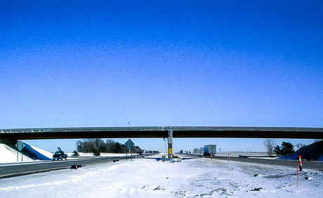 Nebraska Highway 2 over I-80