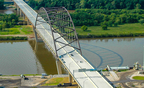 Corridor D, US Route 50 Bridge over the Ohio River and Blennerhassett Island