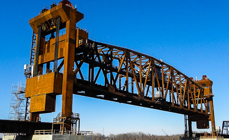 BNSF Burlington Rail Bridge