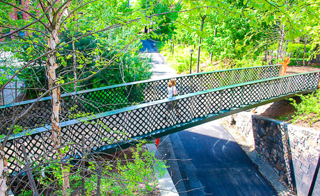 Hillhouse Pedestrian Bridges