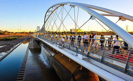 Tempe Town Lake Pedestrian Bridge