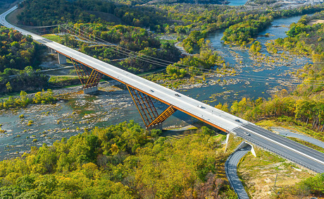 Shenandoah River Bridge Delta Frame