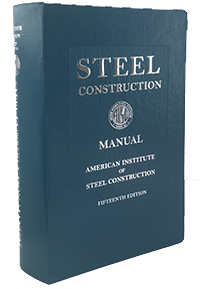 Steel Construction Manual, 15th Ed. (Print)